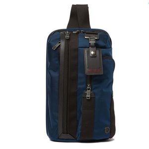 TUMI Morado Sling Pack Bag Baltic Blue Crossbody